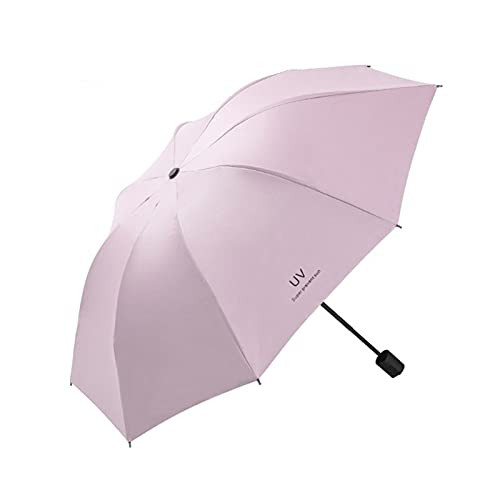DTKJ Paraguas Totalmente automático, Lluvia Plegable o Paraguas de Brillo, paño de Impacto Paraguas de Viaje Compacto