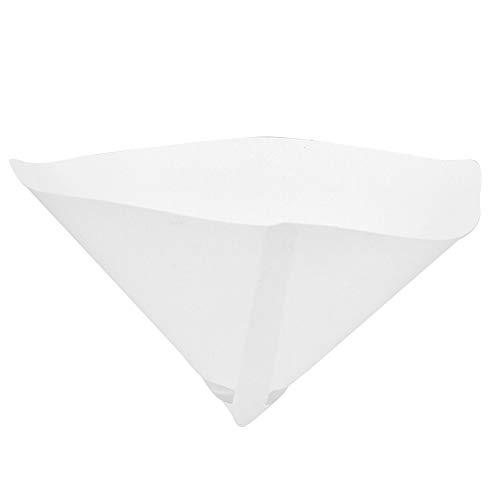 100 Mesh Lackiertes Papier Trichter Farbfilter Sieb Konischer Feinfilter Industrie-Beschichtungskegel-Trichter für Industrie-Farbfilter(50 Stück)