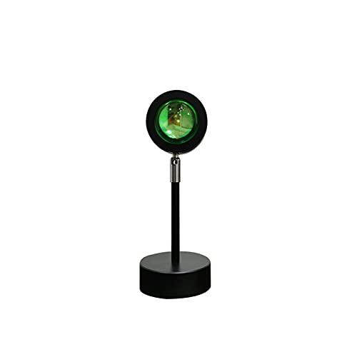 HQYXGS Sunset Lamp, Sunset Proyección LED Lamp Romántico Visual Lámpara De Pie Rotación 180° para Dormitorio Boda Fiesta De Cumpleaños Regalo,Sun