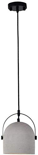 Rekaf Lámpara Colgante de diseño de lámpara de araña, Barra de Restaurante Cabezal Individual Luz de Techo nórdica Moderna Minimalista Araña, Cemento Creativo Colgante Luz Ligera Araña Individual