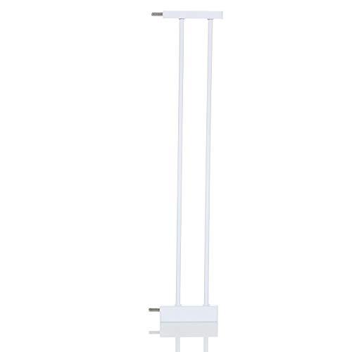 LCP Kids Baby Tuerschutzgitter 14 cm Verlängerung Weiß für Treppenschutzgitter