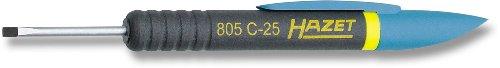 HAZET 805C-25 Slot Profiel Clip Schroevendraaier - Verchroomd