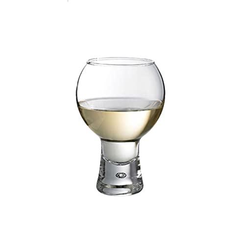 MQH Copas de Vino Copa de Vino de Estilo nórdico Taza de Cristal sin Plomo Taza de Vidrio sin Plomo Taza Copa de Agua de Burbujas Creativas para Fiesta y Barra Copas para Vino