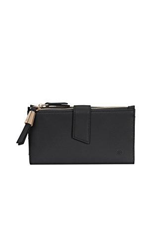 SAMSONITE Satiny SLG - Fashion Wallet + Double Zipper Kreditkartenhülle, 0 Liter, Black