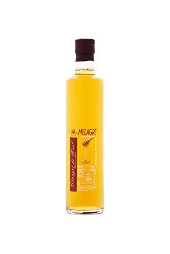 Honigessig Balsamico aus Spanien - Premium Qualität - reines Naturprodukt - im Faß gereift - eine besondere Delikatesse für Salate und mehr - 500 ml, Größe:500 ml