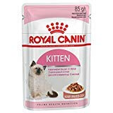 ROYAL CANIN Kitten Instinctive wet cat 85g pouches comes in either Gravy or Jelly (Gravy, x 48 Pouch...