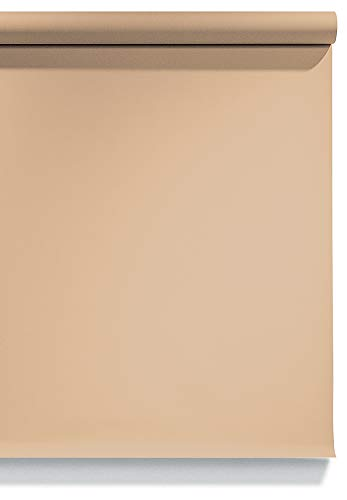 Superior Seamless Photography Background Paper, 66 Wheat 107 inches Wide x 36 feet Long (Made in USA)