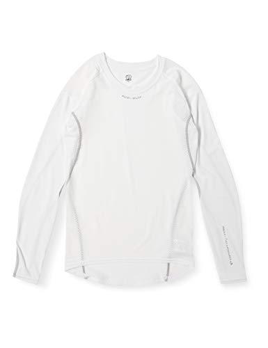 [パールイズミ] クールフィットドライ UV ロングスリーブ 118 メンズ ホワイト S