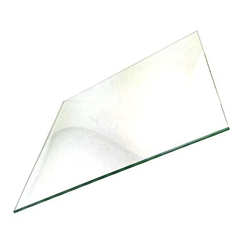 Huhu Placa de Vidrio de 170x170mm Borosilicate Placa de Vidrio templada/Ajuste de Cama para lulzbot Mini Impresora 3D (Size : Borosilicate Glass)