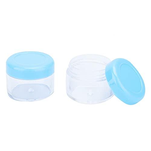 20 piezas DIY botella de crema contenedor de gel envases de cosméticos macetas portátiles para polvo para viajes para el hogar