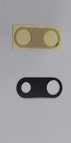 Ricambio vetro scocca per cover posteriore vetrino lente obbiettivo fotocamera camera + BIADESIVO PER IPHONE 7 PLUS