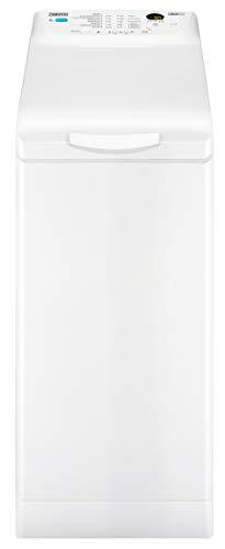 Zanussi ZWQ61235CI Waschmaschine Toplader / 6,0 kg / Nachlegefunktion / Kindersicherung / 1200 U/min / LED-Display