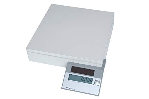 Maul Solar Paketwaage, 50 kg, Wiegefläche 30 x 30 cm, Grau, 1 Stück