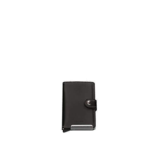Secrid - Portamonete Miniwallet, misura 10,2 cm, Nero (Nero ), 10.2 cm