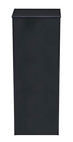 MEFA Paketkasten/Paketbox ERIK BACK - mit rückseitiger Postentnahme, RAL 7016 anthrazitgrau