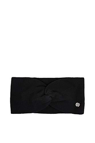 ESPRIT Accessoires Damen 990EA1P302 Winter-Stirnband, 001/BLACK, 1SIZE