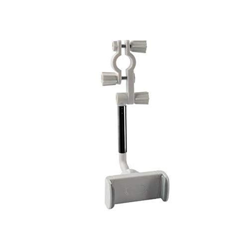 USNASLM Soporte de teléfono para espejo retrovisor del coche, para iPhone 12 GPS Seat Smartphone Soporte de teléfono de coche Soporte ajustable