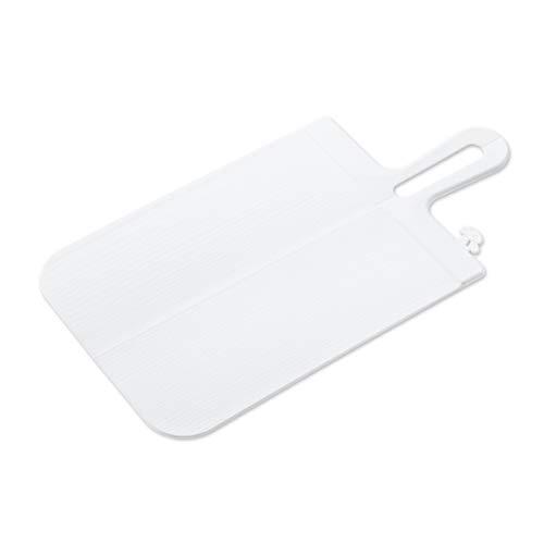 Koziol 3251525 Planche à découper Snap L Blanc, Plastique, 44,4x22,2x0,44 cm