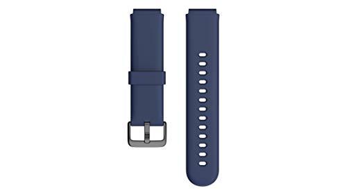 Fitpolo Smartwatch Ersatzarmbänder ID205L/ID205 Smartwatch, Verstellbare Ersatzbänder Fitness Armbanduhr für Frauen Männer Kinder - Blau