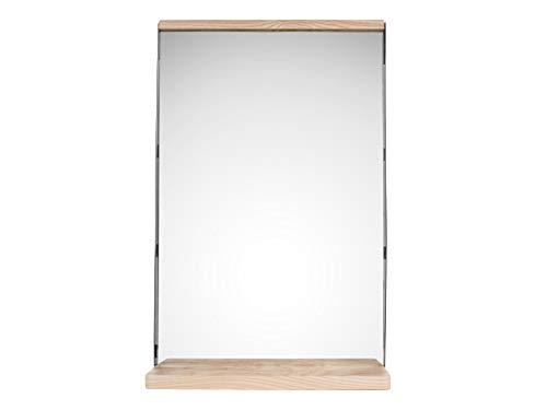 Present Time Miroir en bois en fer 35 x 11 x 55 cm