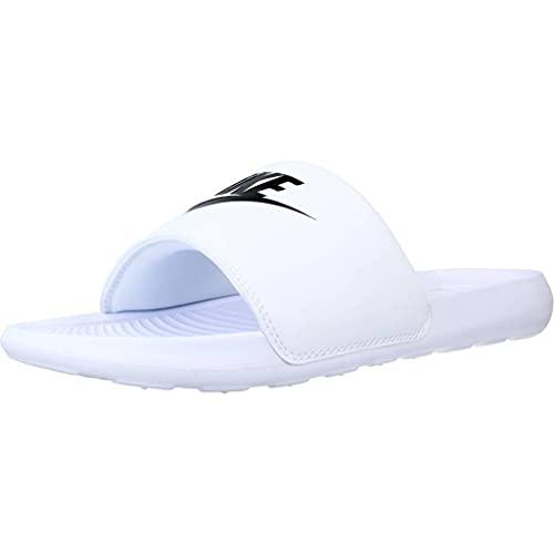 Nike VICTORI One Slide, Scarpe da Ginnastica Uomo, White/Black-White, 40 EU