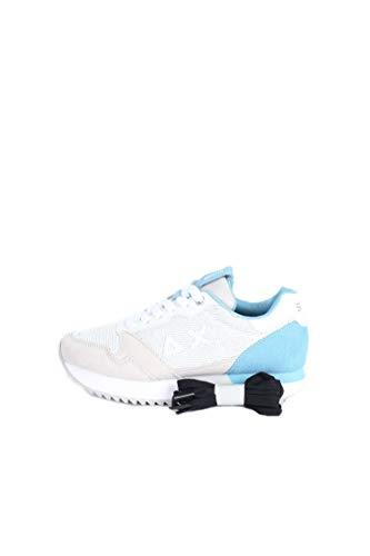 Sun 68 Sneakers Donna Modello Kelly Paillettes Z31214 (Bianco Panna, Numeric_37)