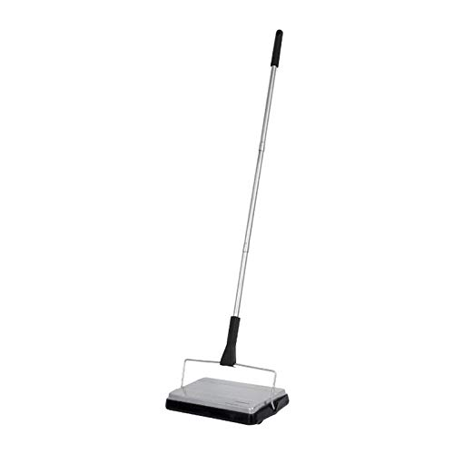 """of vacuum sweepers ALL PARTS ETC. Carpet Sweeper Non Electric Vacuum Cleaner, Floor Sweeper Broom with Rotating Brushes, Manual Vacuum Sweeper, Push Vacuum for Tile, Carpets and Hardwood 10.5"""""""