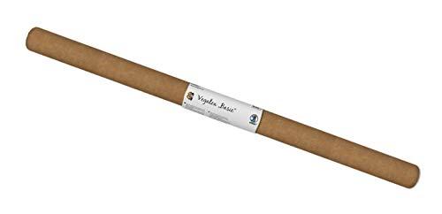 Vegatex Basic, veganes, waschbares Papier, Strapazierfähigkeit ähnlich dem Tierleder, für vielerlei Bastelarbeiten geeignet, 0,55 mm Stärke, ca. 50 x 37,5 cm, gerollt, sahara