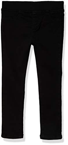 DKNY Girls' Jeans, True Black, 5