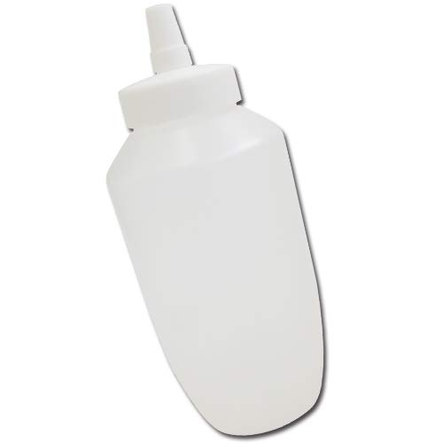 はちみつ容器740ml(ホワイトキャップ)│業務用ローションや調味料の小分けに詰め替え用ハチミツ容器(蜂蜜容器)はちみつボトルビッグな特大サイズ