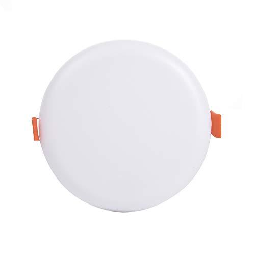 Bellanny 10W LED Einbauleuchte,Randlose Deckeneinbauleuchte Downlight 6000K Tageslicht, 880LM Runde LED Flächenleuchte für Haus, Küche, Büro