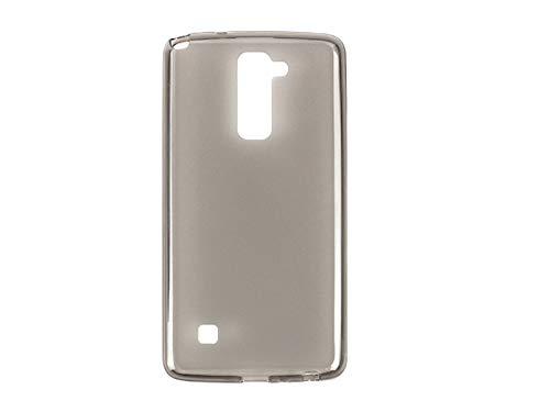 etuo Handyhülle für LG Stylus 2 Plus - Hülle, Silikon, Gummi Schutzhülle - Schwarz
