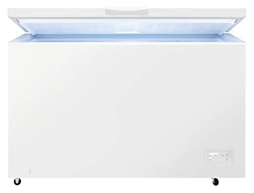 Zanussi ZCAN38FW1 Freestanding Static Chest Freezer, 371L Capacity, White