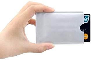 Pencilupnose© RFID Blocking NFC Schutzhüllen Störsender, für Kreditkarte, Personalausweis, EC-Karte, Bankkarte, Ausweis - 100% Schutz gegen unerlaubtes Auslesen - Kreditkarten RFID Blocker (10)