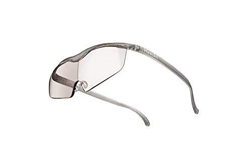 Hazuki ハズキルーペ 直営店 公式店 限定 倍率交換保証付き ラージ 1.6倍 カラーレンズ チタンカラー ハズキ 拡大鏡 ルーペ メガネ型 眼鏡型 めがね型 メガネ 眼鏡 めがね 日本製 MADE IN JAPAN ギフト