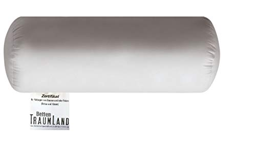 Bach's Betten Welt Canada Nackenrolle 100% canadische Land Daune Baumwollbezug 40x15 cm