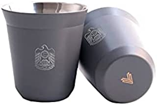 Rovatti Stainless Coffee Cup UAE Gray
