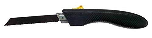 Stanley Taschensäge 150 mm (mit Kunststoff Handgriff, Sägeblatt ausklappbar, Universalverzahnung, Karbon-Stahl) 0-15-333