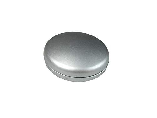 Prodecoshop Dekomagnet – Gardinenmagnet – Magnetgriff - Magnetpin rund Ø 28 mm - starker Halt - Chrom matt