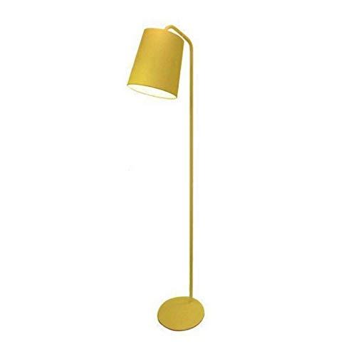 ZGP-LED Luces de piso Lámpara de pie moderna minimalista amarillo sofá de la sala de lectura del dormitorio de la lámpara de noche decoración de la lámpara lámpara de mesa vertical LED Lámpara Piano N