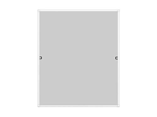 WIP Insektenschutz Rahmenfenster SLIM 100x120cm, weiß