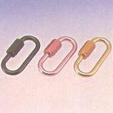 水本 アルミリングキャッチ(アルマイト付)(シルバー) 線径5mm長さ41mm ALH5S