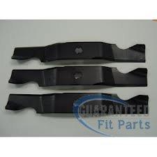 Gegarandeerd Fit Parts Vervanging 3 pack grasmaaier messen. Vervangt MTD en Cub Cadet onderdeel 94204053