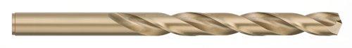 Titan CD50305 Jobber Drill, Cobalt, Size E, 2-3/4' LOC x 4' OAL, 2 Flutes, HD, 135 SP/PT