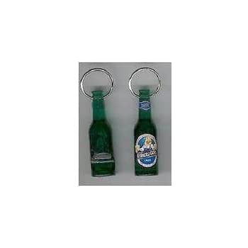 St - New /& Free Shipping One 1 Pauli Girl Bottle Opener Key Ring