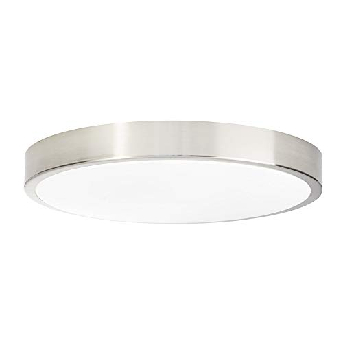 AEG Lámpara de techo, 24 W, Eisen/Weiß