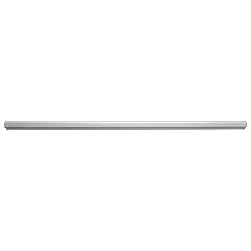 ADVANTUS Grip-A-Strip Display Rail, Large Note Holder, 12 Inches Long, Satin Aluminum Finish (1025)