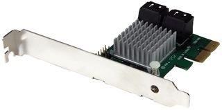 StarTech.com 4 Port SATA III RAID Controller PCI Express Schnittstellenkarte - PCIe Serial-ATA Controller Adapter - HyperDuo SSD Tiering