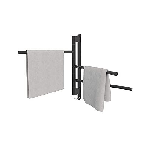 Calentador de toallas, toallero eléctrico Calentador de toallas caliente Interruptor de un...