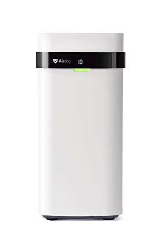 Product Image of the Air Purifier for Home or Office - Airdog X5 Ionic Air Purifier with Washable Filter. Beyond HEPA Filtration with Two Pole Active (TPA) Tech that Kills Microscopic Mold, Bacteria, Smoke & Pet Allergies